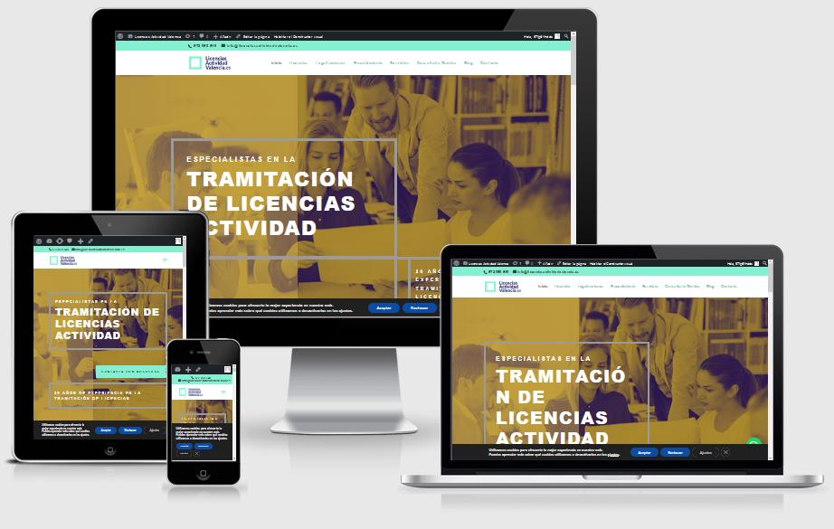 Inauguramos página web